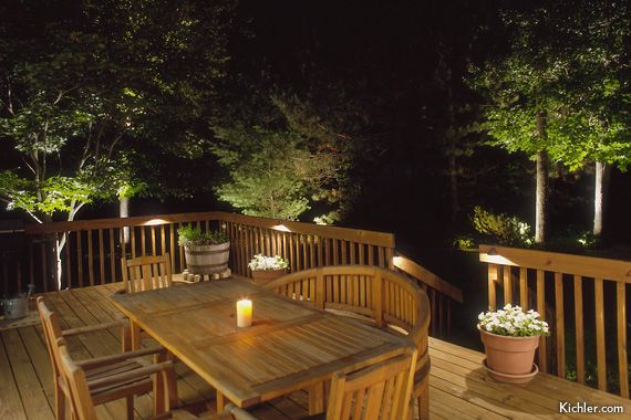 Deck and patio lighting ideas that add livability star floors deck lighting ideas low voltage aloadofball Image collections