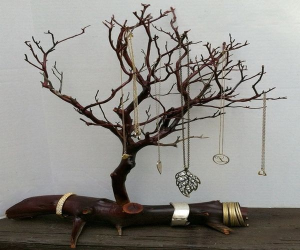 You Should Try To Do At Least One Of These Jewelry Stand Diy Handmade Jewelry Reuse Recycle Motivationmond Jewelry Tree Stand Jewelry Tree Jewelry Stand