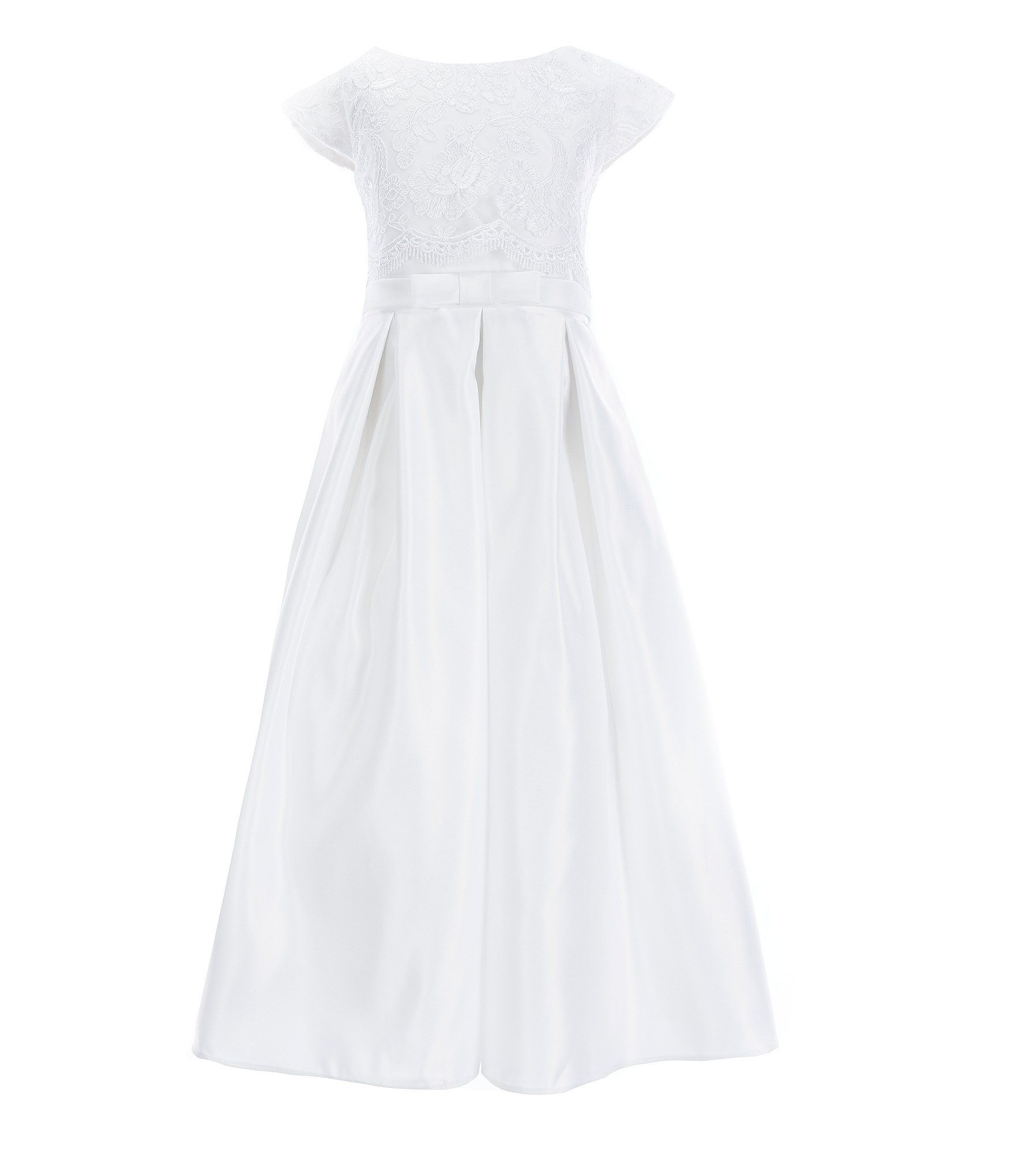 00952eead7a Shop for Sweet Kids Big Girls 7-16 Lace Satin Pocketed A-Line Dress at  Dillards.com. Visit Dillards.com to find clothing