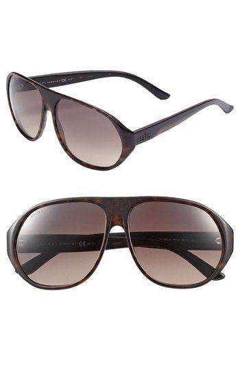 de72cb00d4b Men s Gucci  1025  60mm Sunglasses - Dark Havana