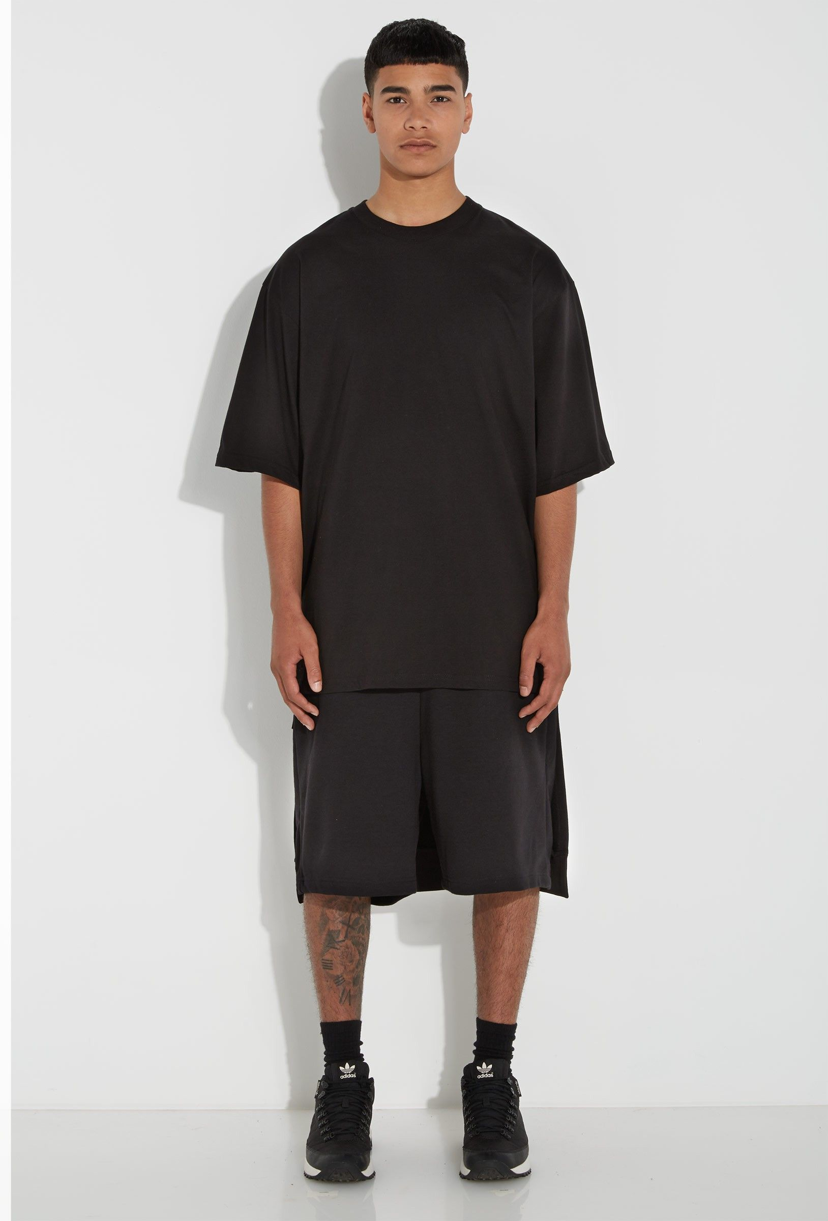 Oversized black t shirt - Mono Black Oversized T Shirt