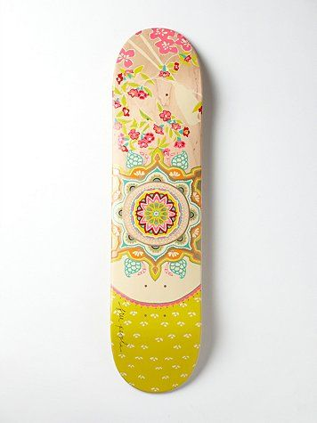 Limited Edition Free People Printed Skateboard. Wall art ...