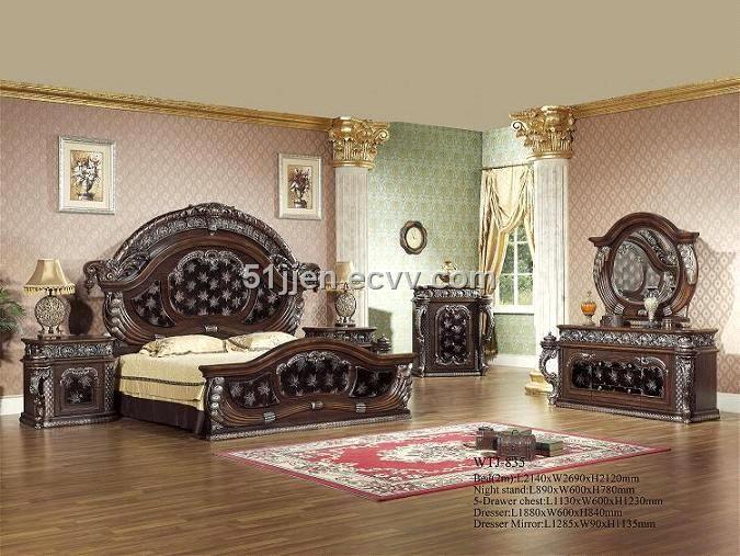 Middle-East Bedroom Furniture (XGM-1118) (XGM-1118) - China ...