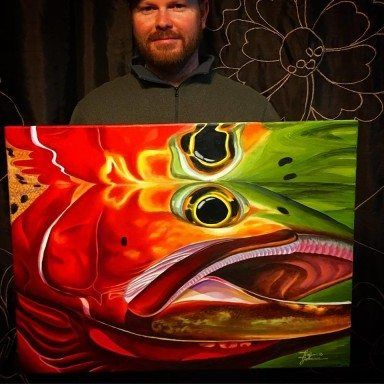 cutthroat painting