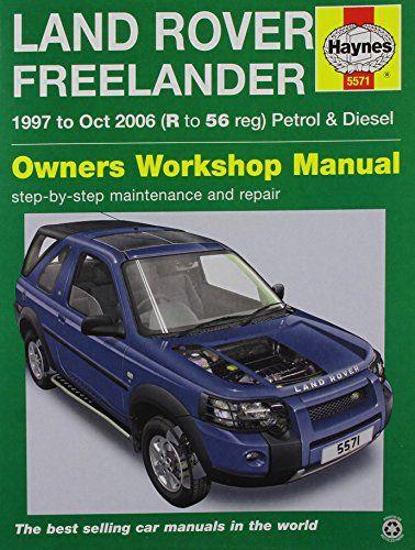 land rover freelander 97 06 haynes service and repair manuals rh pinterest com lr2 owners manual 2009 land rover lr2 service manual