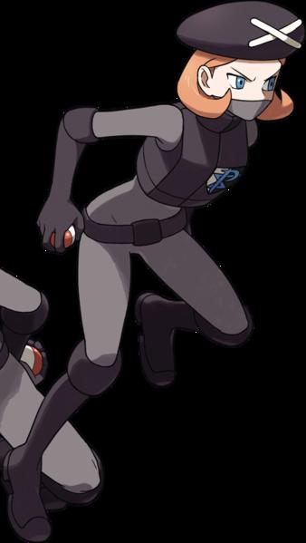 BW 2 Team Plasma Female Grunt Killer Pokemon Girls