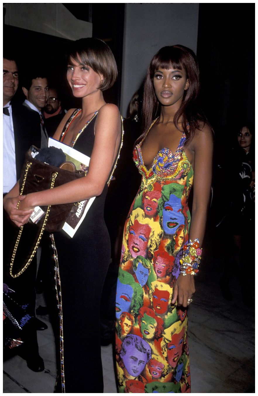 gianni versace 1992 runway - Google Search