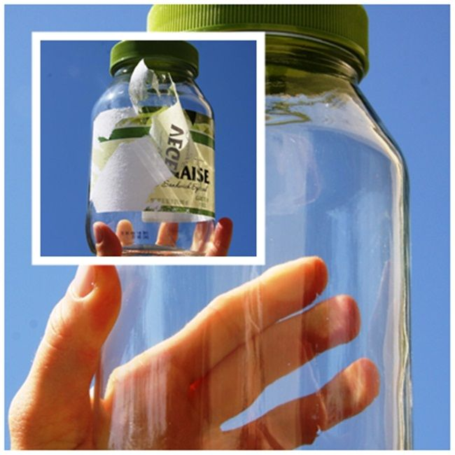 Remove Labels From Jar Or Bottles Easily Sticker Removal