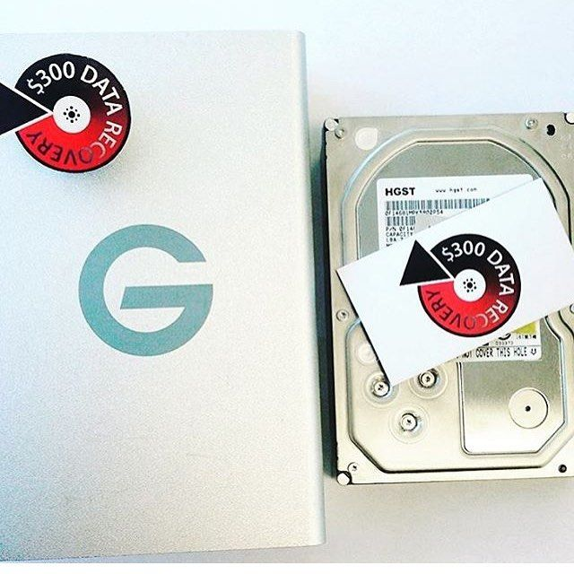 We were able to recover 99.99% of sectors from this #HGST in a G Drive enclosure.  Need Data Recovery ship it or come into #300DollarDataRecovery
