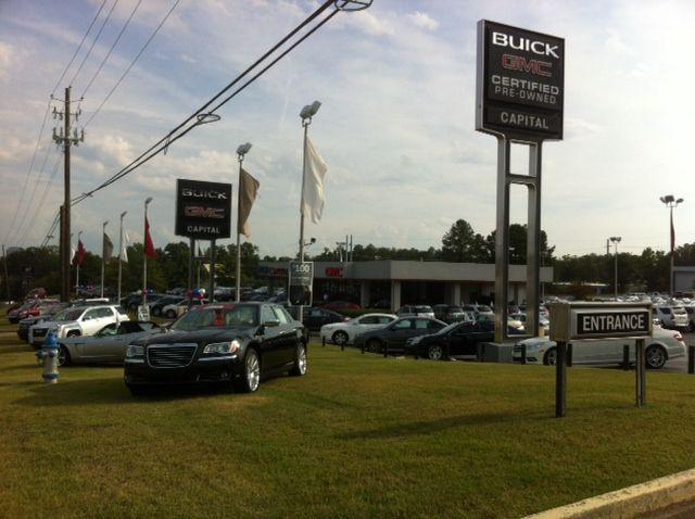 Capital Buick Gmc Lot Buick Gmc Buick Enclave Gmc Terrain