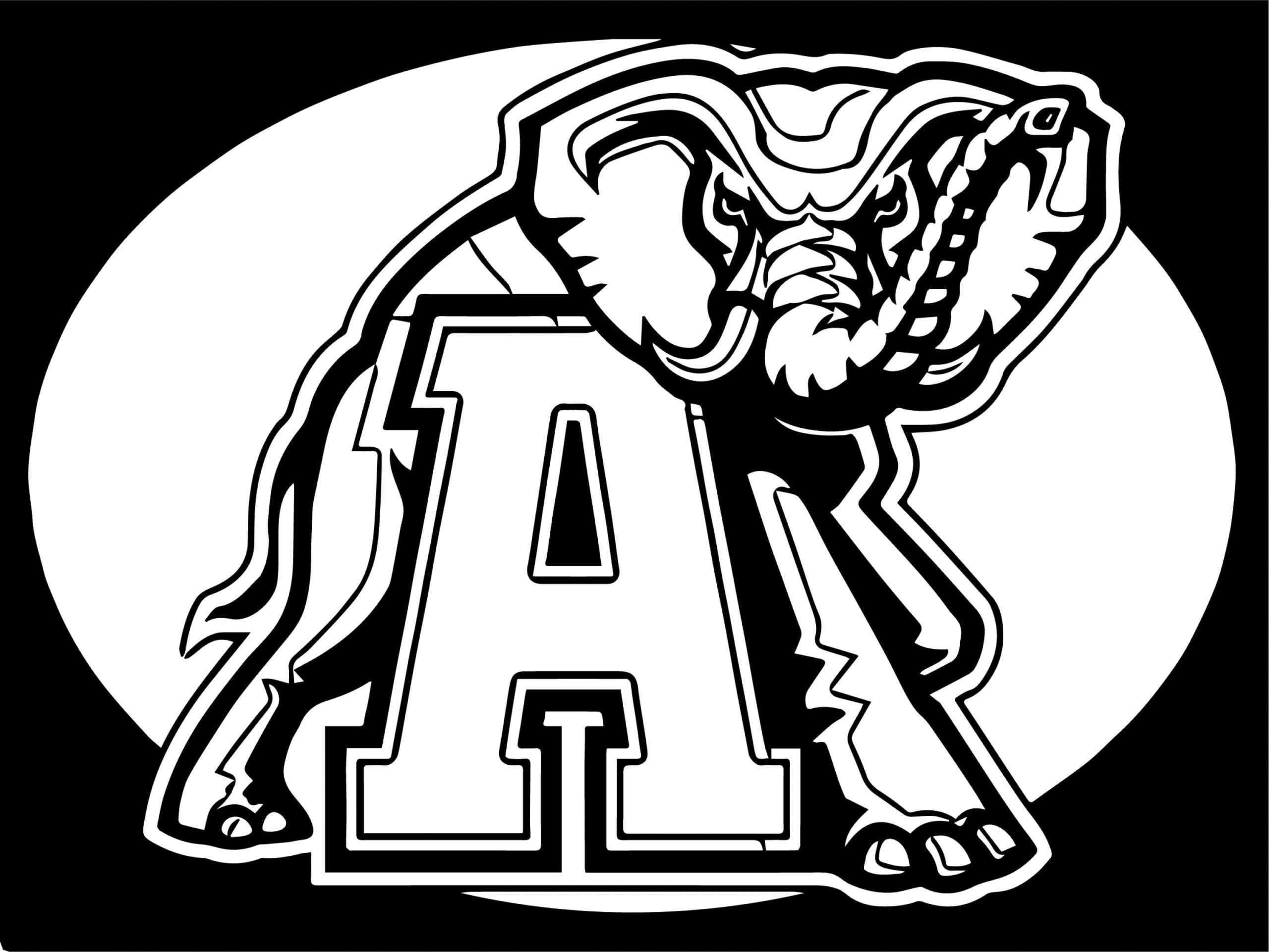 Alabama Crimson Tide Football Coloring Pages Awesome Coloring Page For Kids Free Pr Alabama Crimson Tide Football Football Coloring Pages Crimson Tide Football
