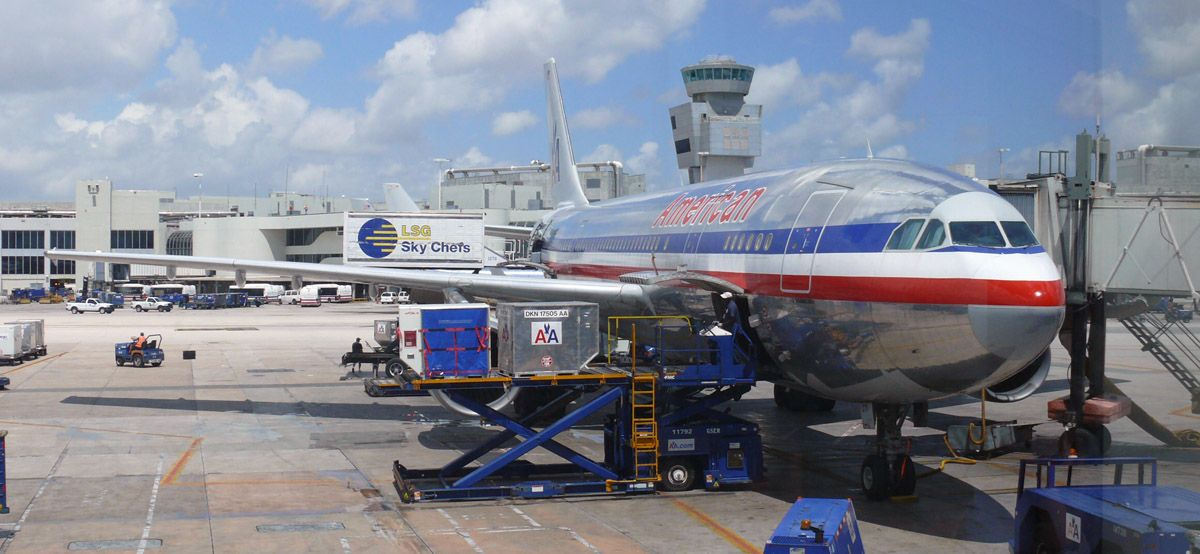 American Airlines Airbus A300600 at Miami International