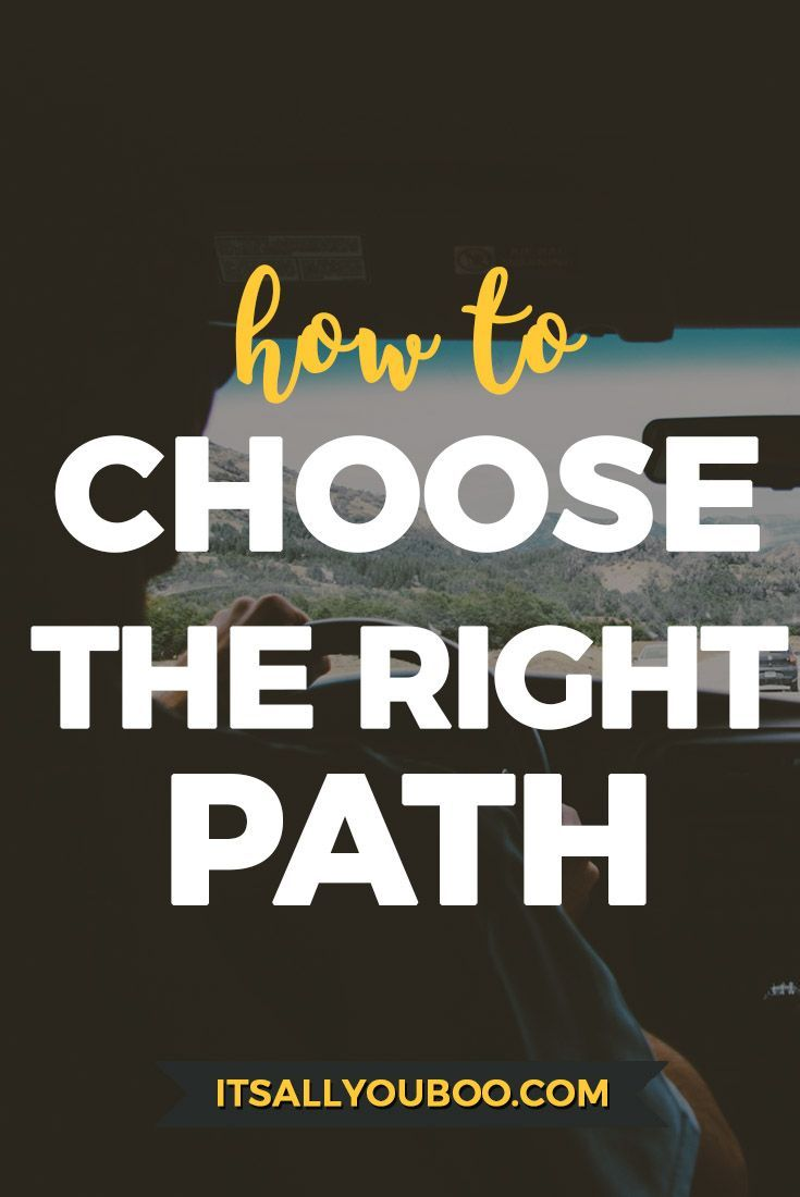 How to make the right choice 84