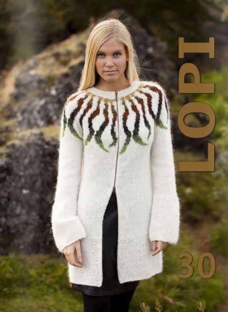 Knitting Kit: Traditional Icelandic Wool Sweater Pattern - Women's ...
