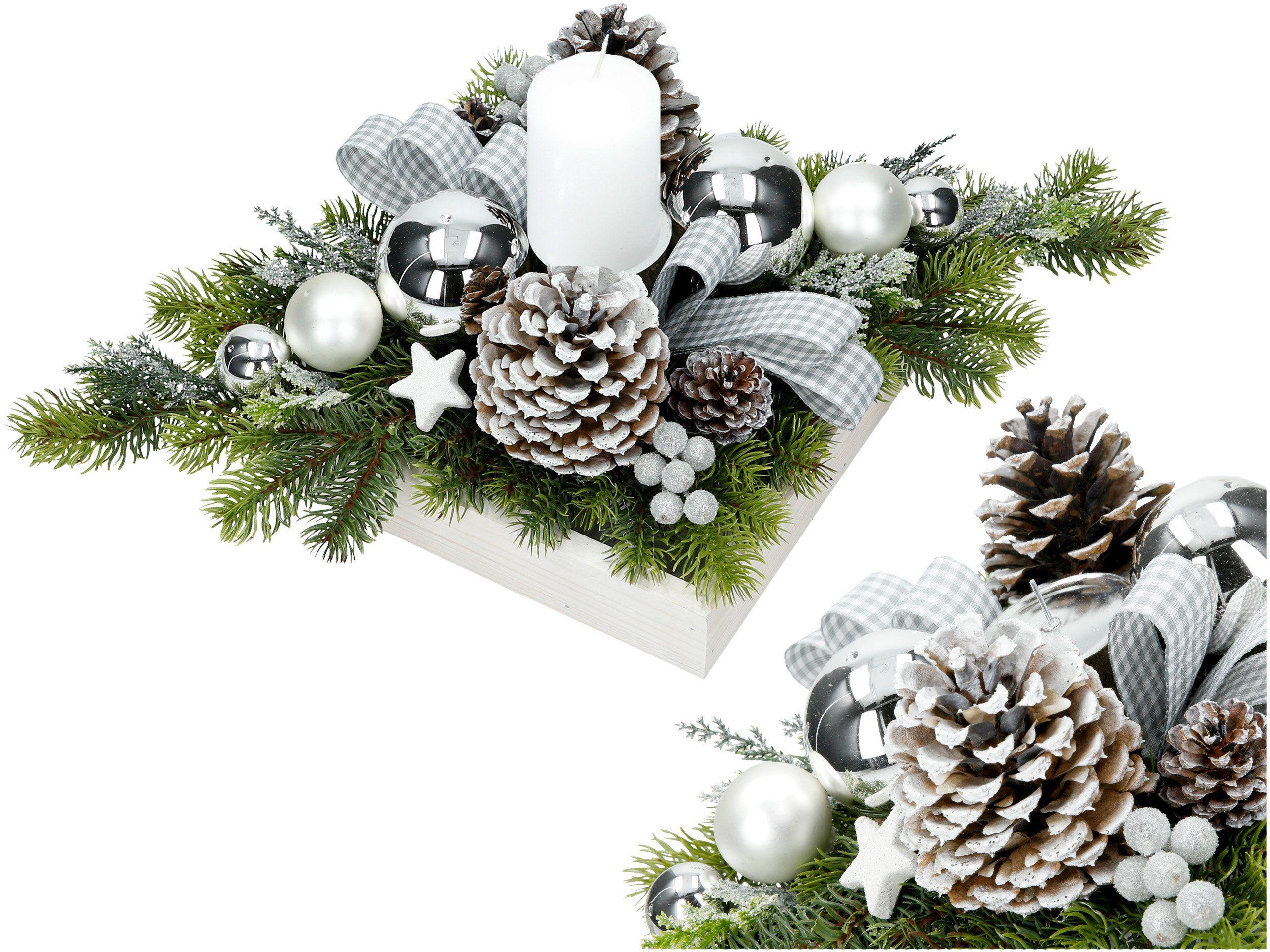 Stroik Bozonarodzeniowy Swiateczny 50cm Na Stol S4 7038894323 Oficjalne Archiwum Allegro Diy Xmas Gifts Christmas Wreaths Christmas Time