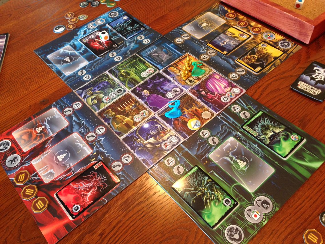 Ghost Stories!! Cooperative board game   so fun   impossible