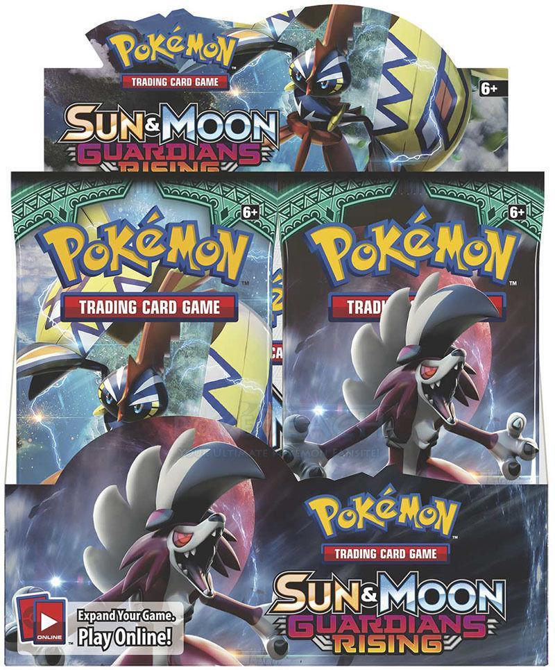 Sun And Moon Guardians Rising Booster Box Pokemon Tcg Pokemon