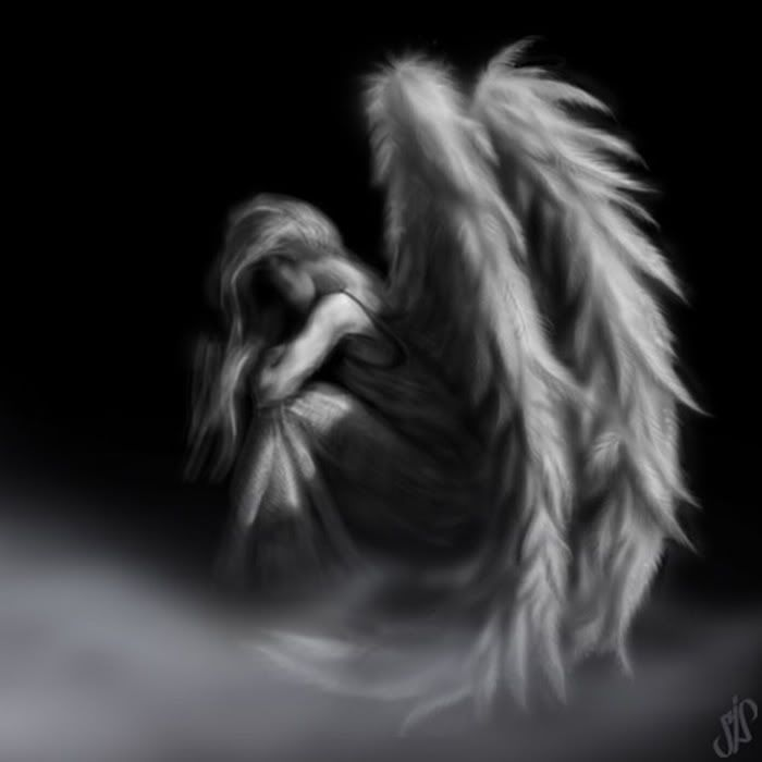 Black And White Images Angels