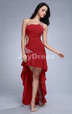 Robe rouge courte pour mariage
