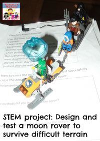 design a moon rover STEM project
