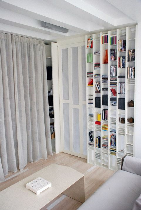 Unusual CD/DVD/book Storage