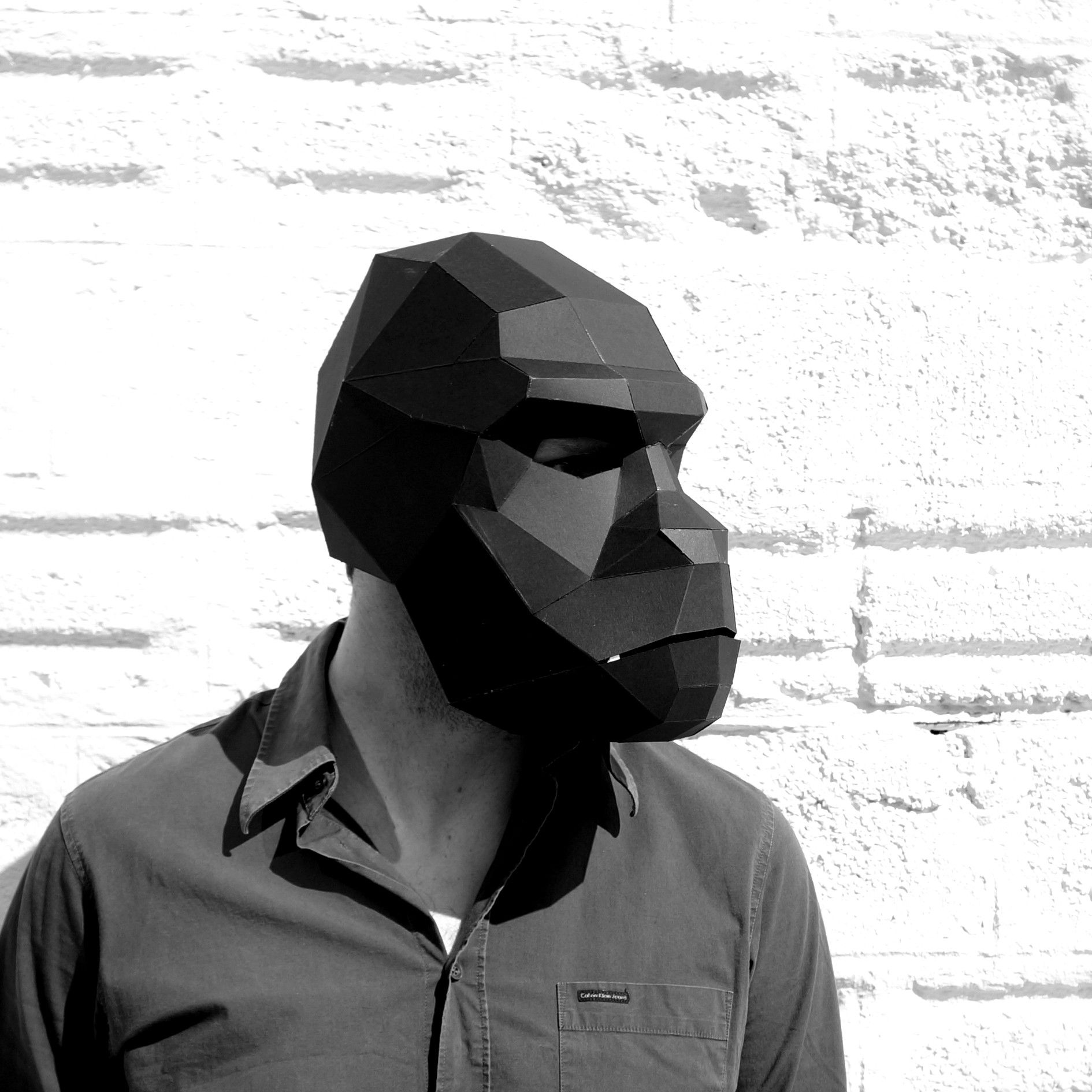 Gorilla Mask - Wintercroft - 1 | I want it! | Pinterest ...