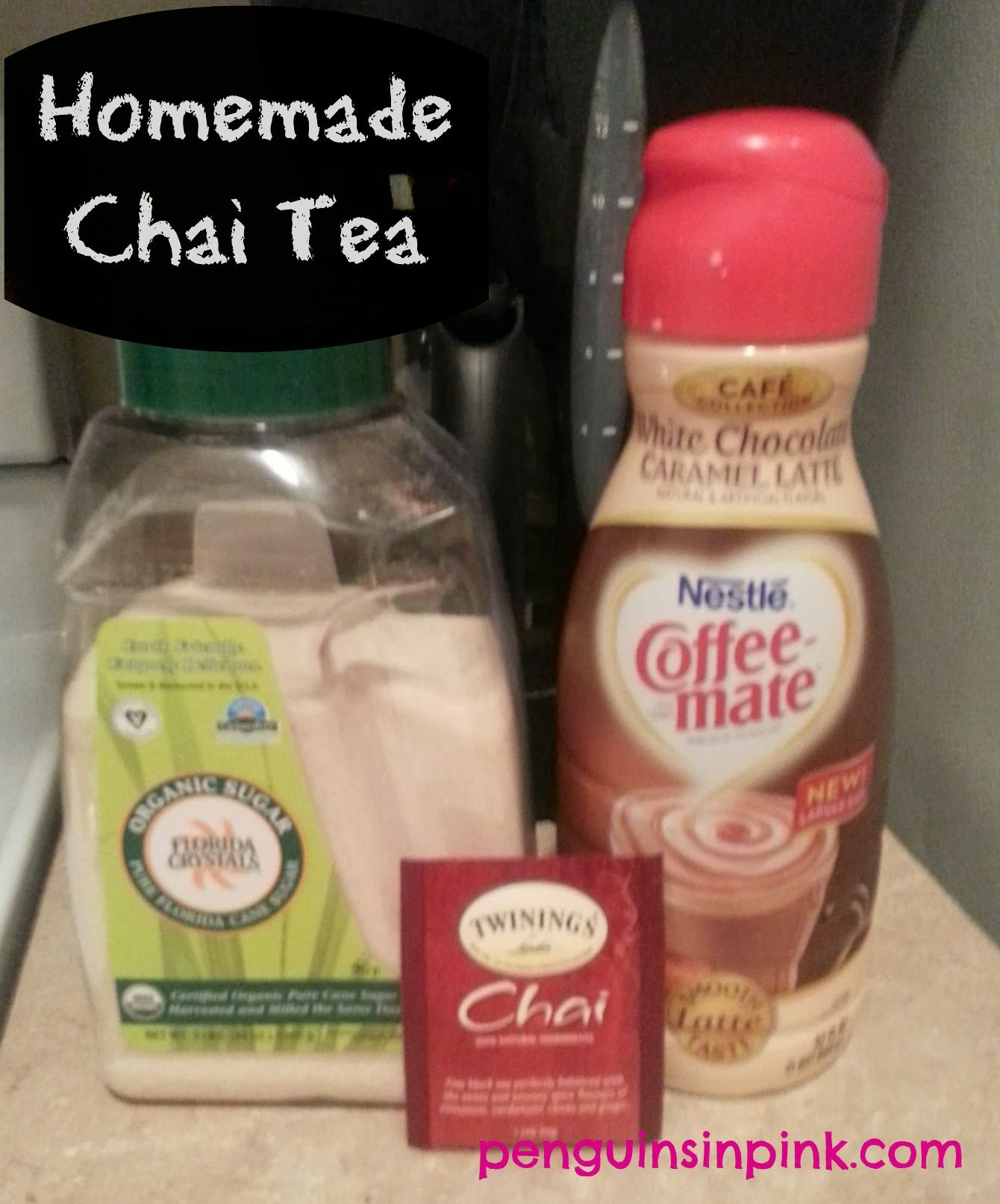 Homemade Chai Tea Latte. The Best Thing About This Drink