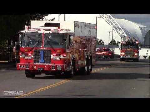 Boston Fire Dept Ladder 1 Responding - YouTube