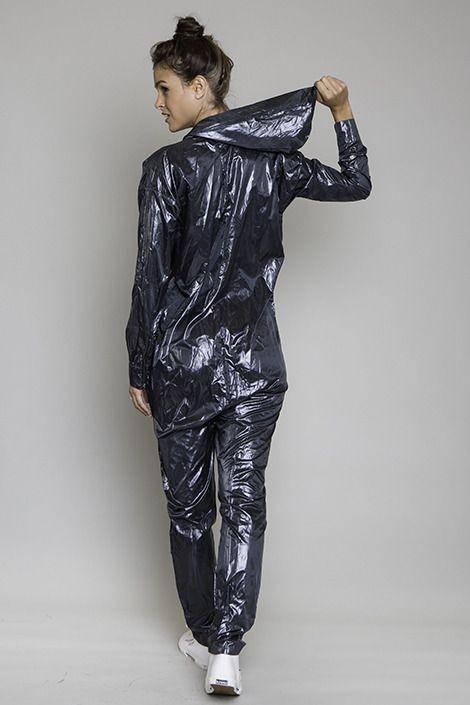 Nylon Warmup Suit