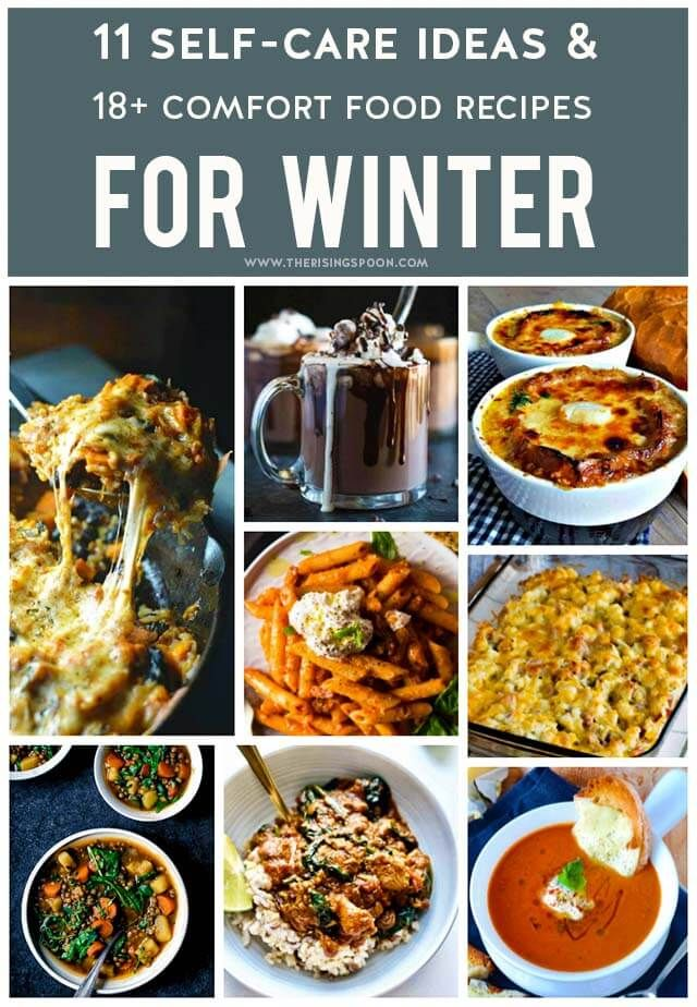 Comfort food recipes self care ideas for winter forumfinder Image collections