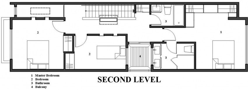 Linear House By Nano Design Build Micro House Plans Guest House Small Tiny House Design