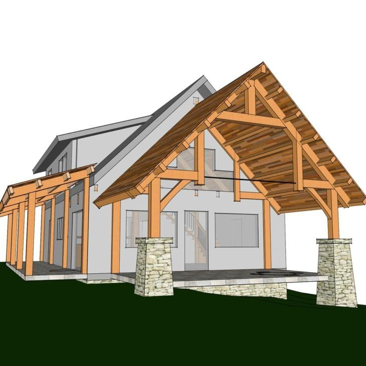 timber frame home plans and prices