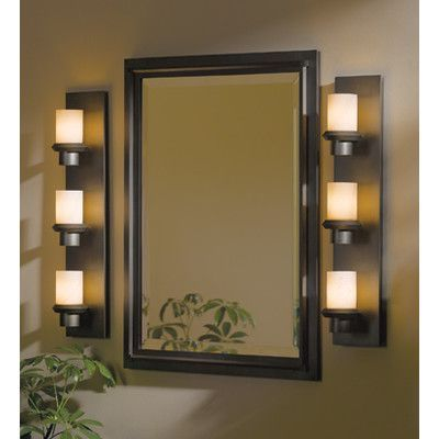 Hubbardton Forge Rook Industrial Beveled Accent Mirror In 2021 Accent Mirrors Bathroom Decor Decor