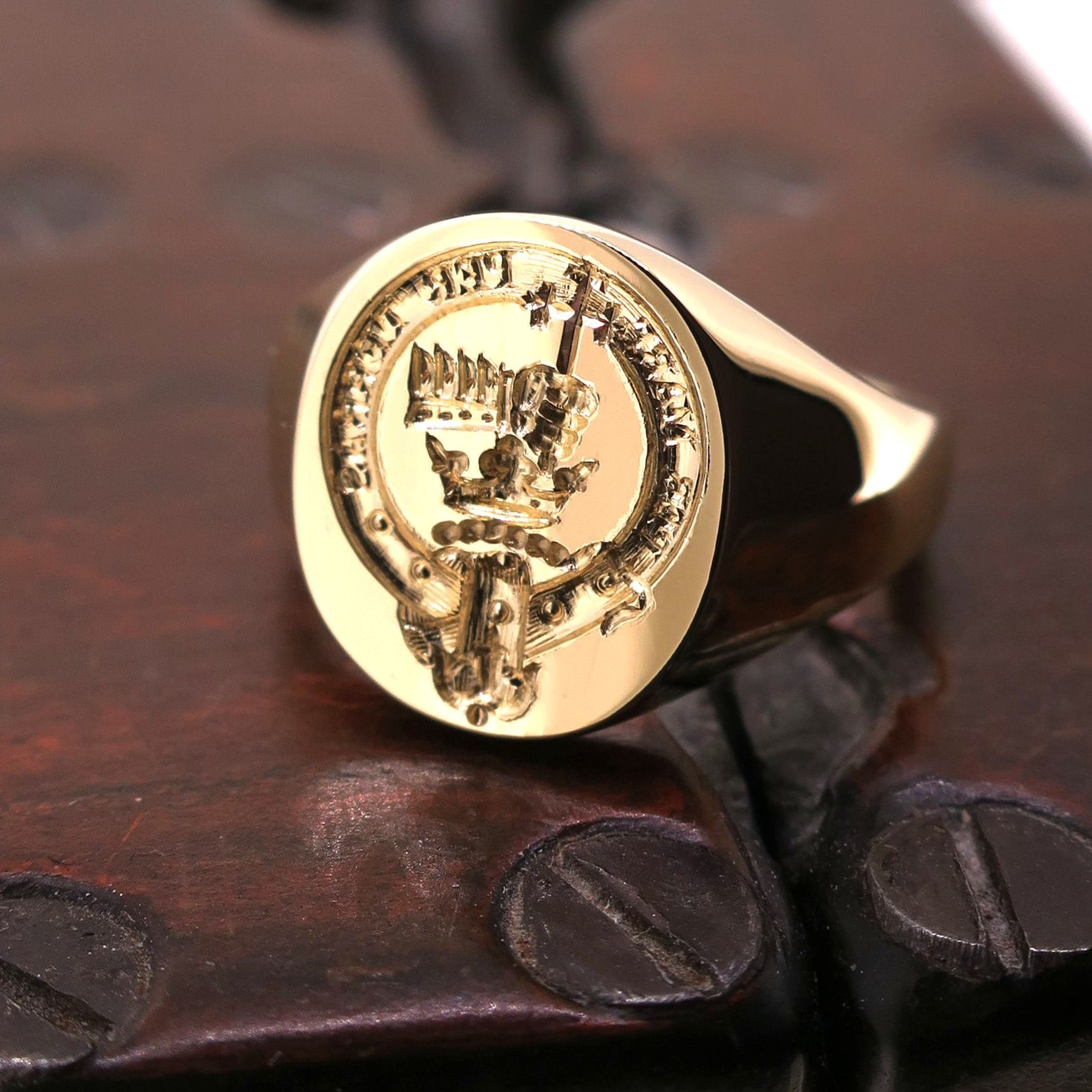 Intaglio Seal Hand Engraving Your Design Your Family Crest Coat Of Arms Bespoke