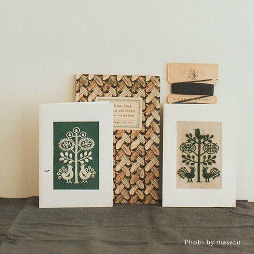 Yumiko Higuchi  Embroidery book  - the linen birdKits, Books & Patterns…