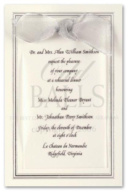 Formal invitations ecru border silver 10389 engagement party formal invitations ecru border silver 10389 stopboris Gallery
