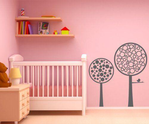 Vinilos decorativos árboles con pajarito 60x55 cms Gris Oscuro de dqcolor vinilos, http://www.amazon.es/dp/B00ABWG1ZA/ref=cm_sw_r_pi_dp_ZK.gxbAYFZ0Y3