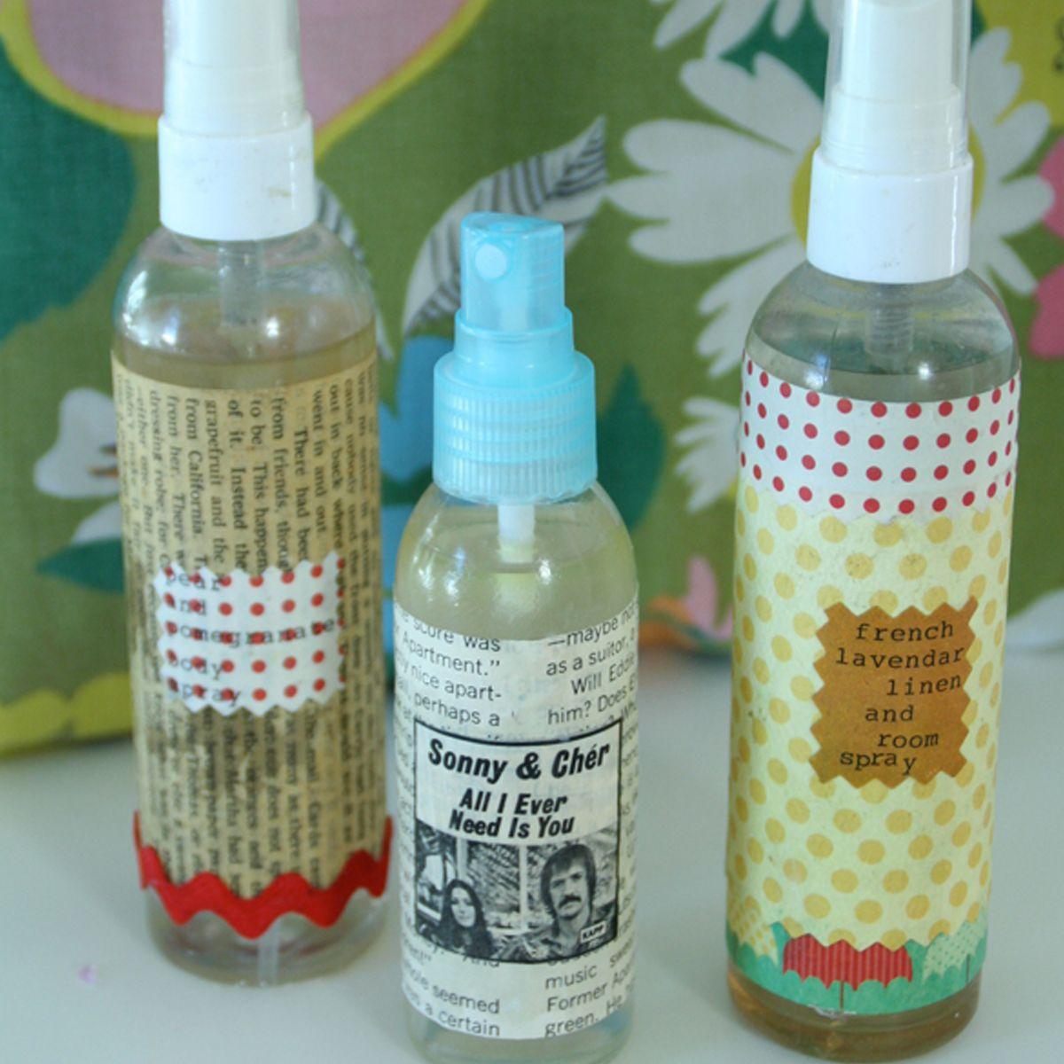 diy craft essential oil sprays Essential oil spray