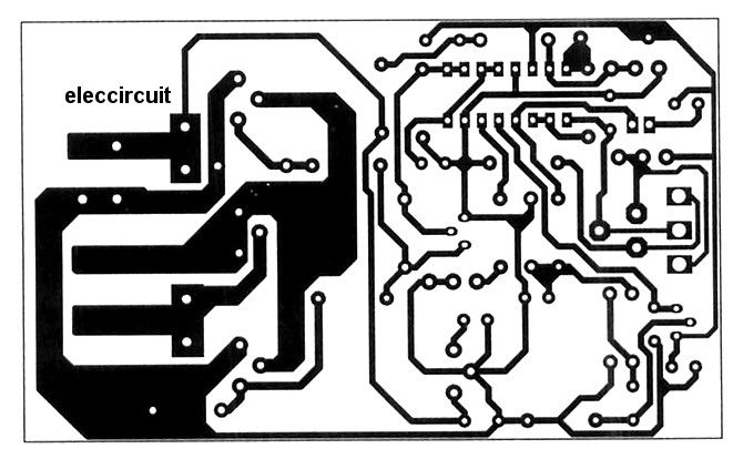 the-pcb-layout-of-20A 12V,24V DC motor controller