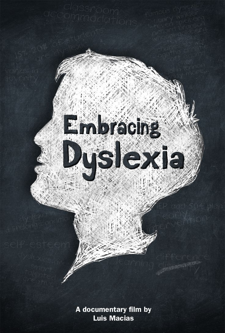 """Set aside an hour and watch the film """"Embracing Dyslexia"""" here: www.embracingdysl..."""