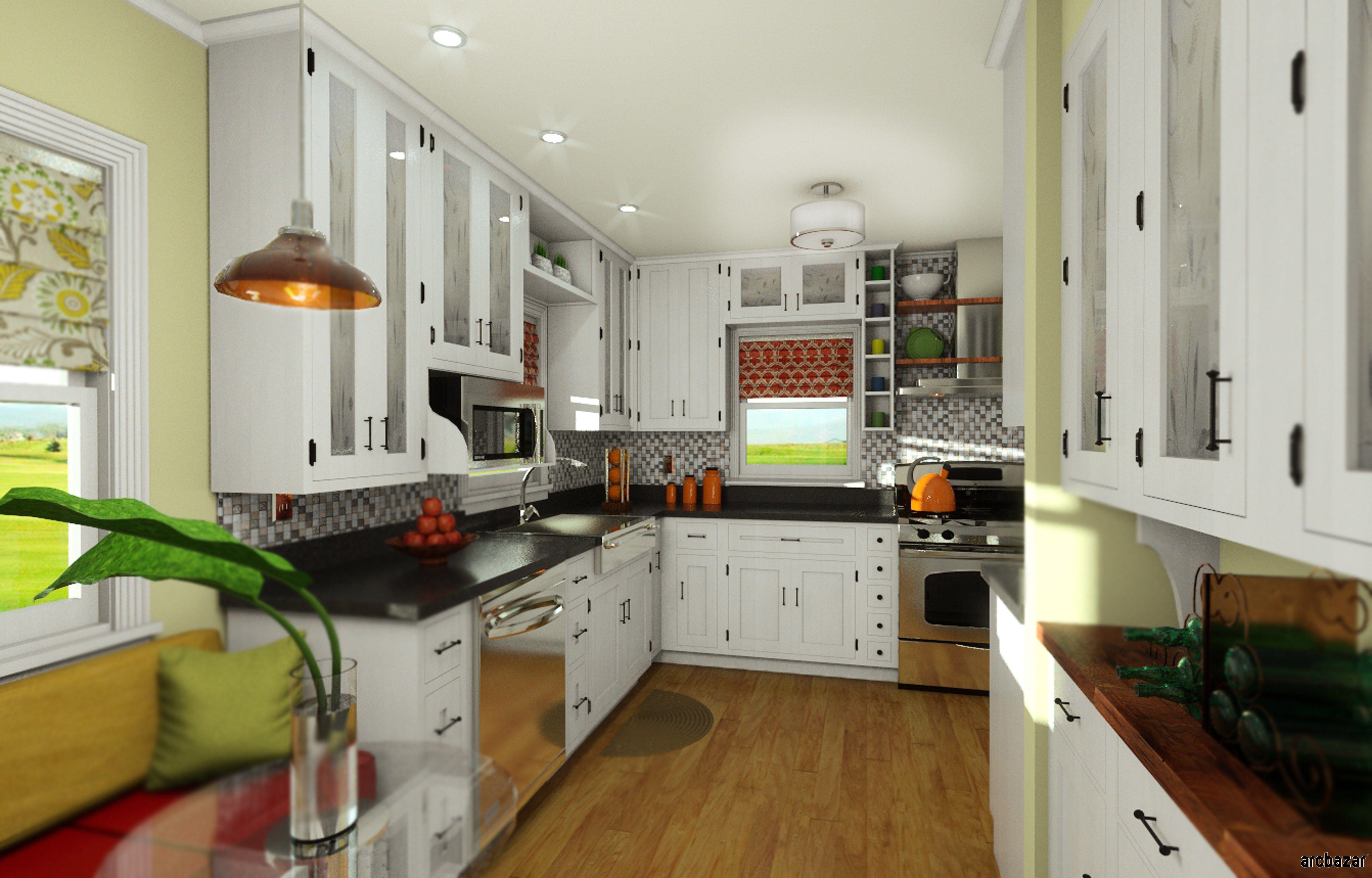 Beau Kitchen Remodel Design By Wrightdzign Via Arcbazar.com