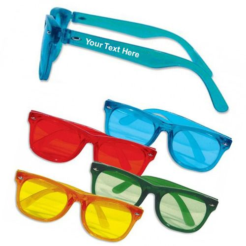 Adult Size Personalized Teal Sunglasses