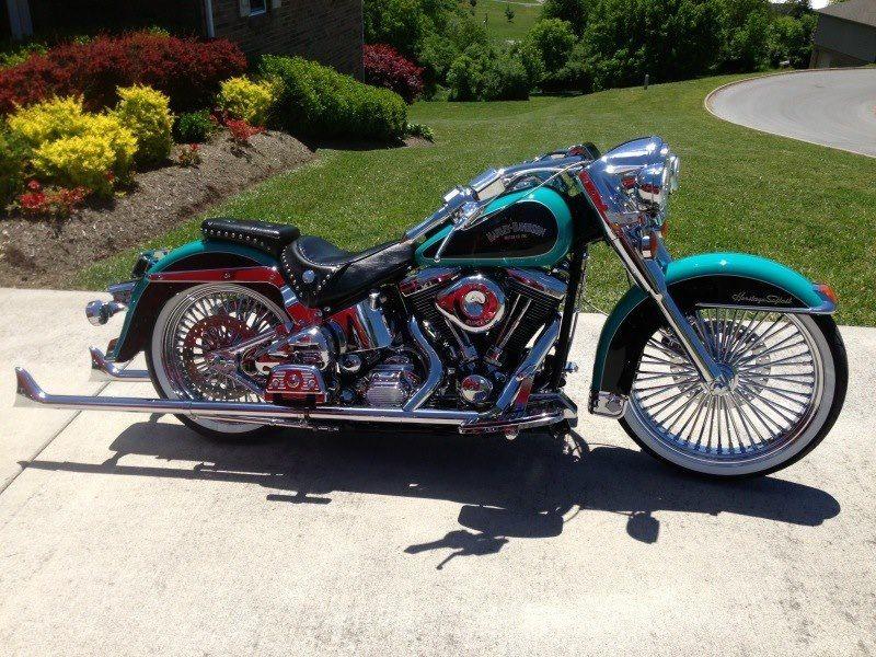 92 Harley Davidson Heritage Soft Tail