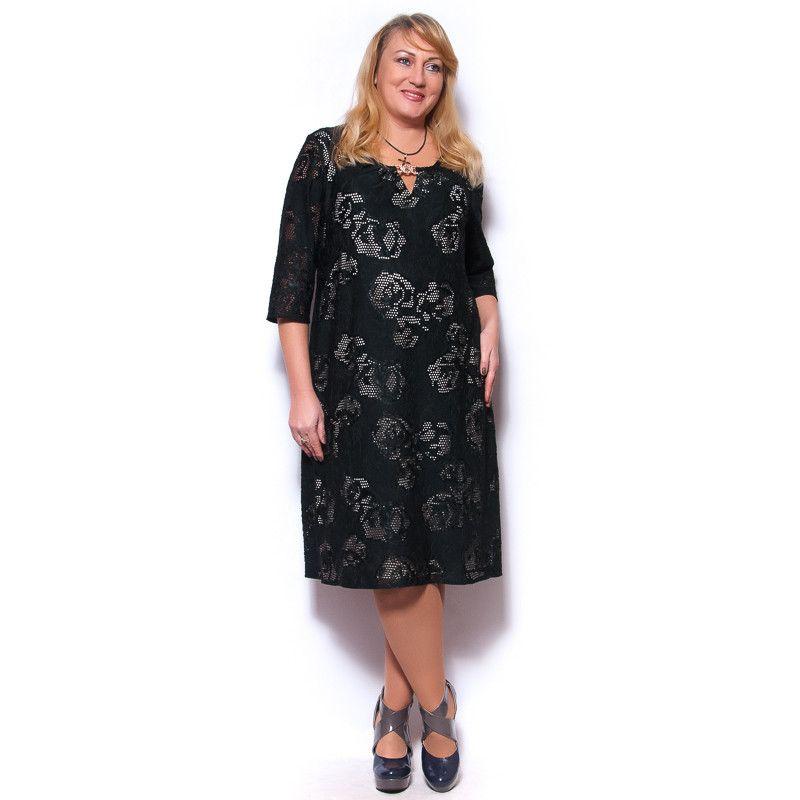 Женское платье большого размера вечернее (с изображениями ...