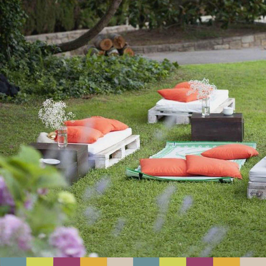 Inspiración chill out jardín - garden chill out | diy | Pinterest ...