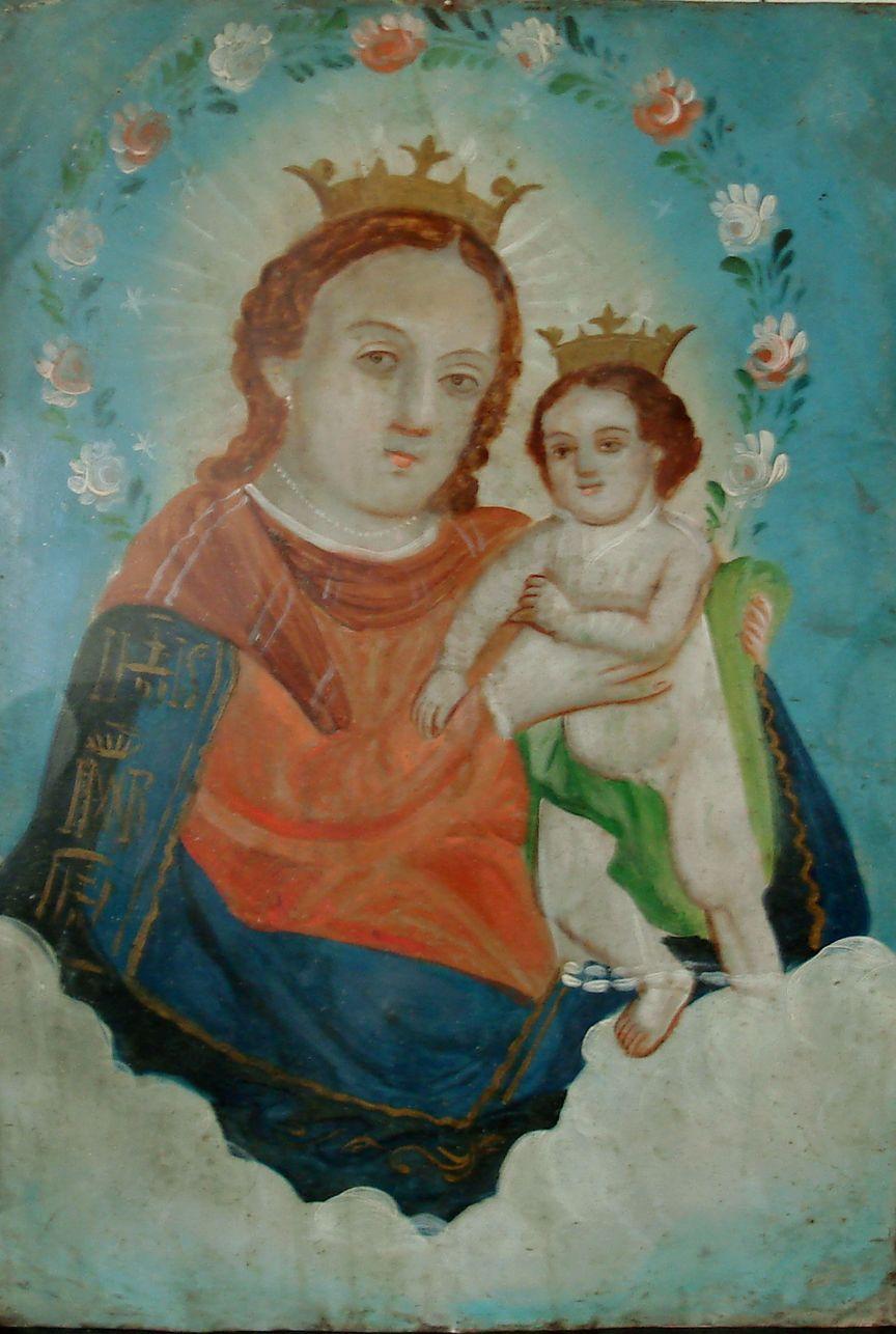 mexican antique retablo our