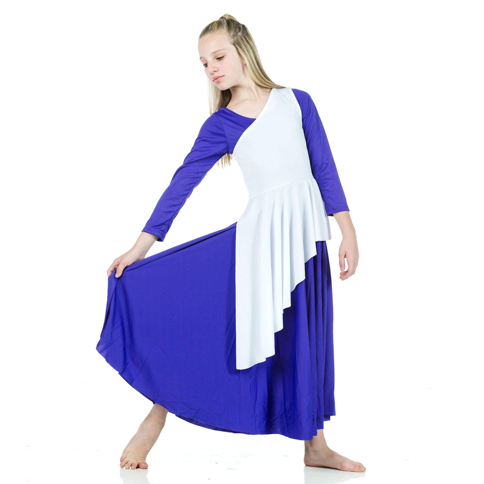 Danzcue Asymmetrical Praise Dance Tunic Dress Not Included Danzcue Wst517 Tops Worship Dancewear Spon D Tunic Dress Style Inspiration Casual Dresses