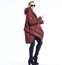 Weiblich Daunenjacke Lady Jacke Winter Mantel Damen von
