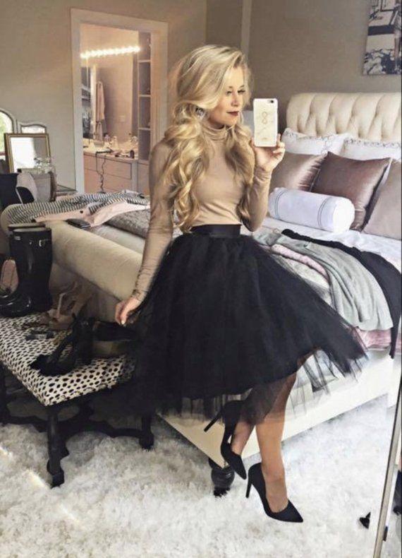 weihnachten outfit #christmas #weihnachten #2020 Tulle Skirt, Adult tutu, Extra Full Skirt- Tulle skirt, Tutu, reception dress, Bridesmaid dress #fullskirtoutfit
