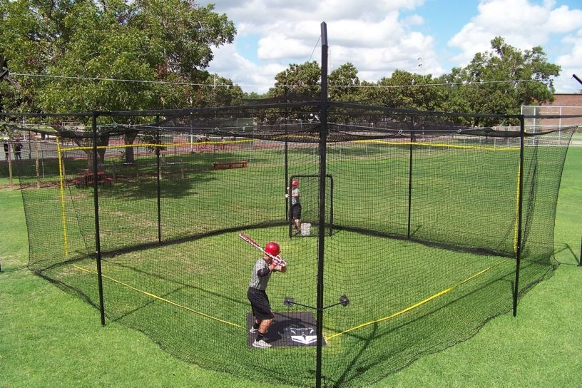 Square Batting Cage Instructional Products Pinterest Squares - Backyard batting cages for sale